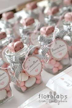 Gift - Baby Shower Favors Chic Wedding Favors - And if we visit the . - Frisure again Gift – Baby Shower Favors Chic Wedding Favors – And if we visited them again … – Christening Favors, Baptism Favors, Baby Baptism, Baby Shower Favors, Shower Party, Communion Favors, Baby Shower Souvenirs, Baptism Ideas, Girl Christening
