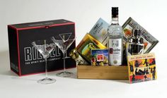 GreenNGreen, Gifts with Flair - Martini Gift Basket - Shaken not Stirred, $235.00 (http://www.greenngreen.com/martini-gift-basket-shaken-not-stirred/)