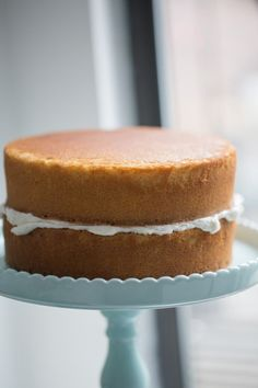 Amazing Vanilla Cake Recipe | Lauren's Latest Cake Recipe Using Oil, Cake Recipes With Oil, Easy Sponge Cake Recipe, Sponge Cake Recipes, Homemade Cake Recipes, Dessert Recipes, Baking Recipes, Salad Recipes, Healthy Recipes