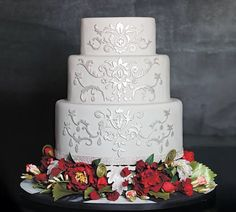 All About Wedding Cakes   wedding cake 1