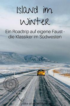 Roadtrip Island - ein Wintermärchen // take an adVANture Island Reykjavik, Roadtrip Europa, Road Trip, Reisen In Europa, Les Cascades, Countries To Visit, Island Tour, Desert Island, Parc National