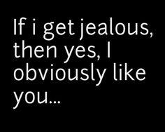 Jealousy in relationships.....SO true.