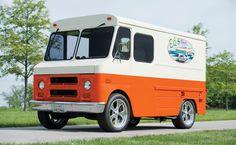 1971 GMC van Station Wagon, Gmc Vans, Goodyear Eagle, Step Van, Vintage Vans, Motor Company, Dream Garage, General Motors, Manual Transmission