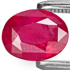 1.36-Carat Orangy Red Unheated Ruby from Vietnam