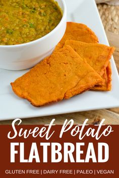 Slimming Eats Sweet Potato Flatbread, Pizza Base, Naan or Taco - Gluten Free, Dairy Free, vegetarian, vegan, Paleo, Slimming World and Weight Watchers friendly