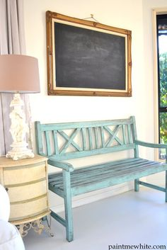 Perfect for a front porch bench