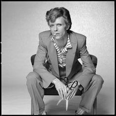 David Bowie - smoking