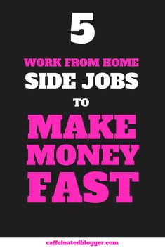 How to Make 500 dollars in a week? Yep, it's very doable, you just need to know how to do it. There are endless websites out there that advertise quick ways to make money, but who can you trust? Here are the top five websites that will show you how to make 500 dollars fast, working from home.