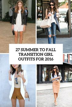 summer to fall transition girl outfits for 2016 cover