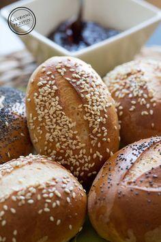 Bread Bun, Pan Bread, Bread Rolls, Baby Food Recipes, Dessert Recipes, Bread Recipes, Desserts, Home Baking, Polish Recipes