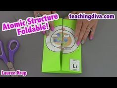 Atomic Structure Foldable - YouTube