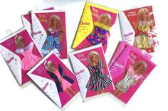 Barbie Fashion Cards 9 Unused Greeting Cards by ReadAllOver5
