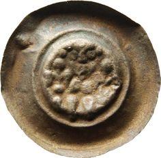 Brakteat Heinrich <Meissen, Markgraf, III.> (1218-1288) Münzherr Meissen, o.J. (1265-1288) Münzkabinett Material and Technique Silber, geprägt Measurement Durchmesser: 37,3 mm; Gewicht: 0,910 g