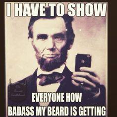 Presidential #beard