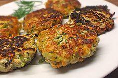 Gemüsefrikadellen mit Kräuterquark