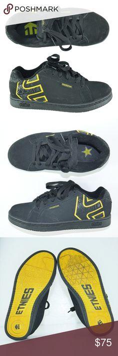 d765b90b7a3b3d Etnies Rockstar Energy Skateboarding Shoe Mens 7 Etnies Rockstar Energy  Fader Skateboarding Sneakers Shoes Mens Sz