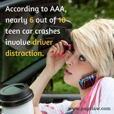 For outstanding legal advice after being injured by a distracted driver, contact an St Louis car accident attorney at Page Law. Accident Attorney, Drive Safe Quotes, Distracted Driving, Driving School, Safety Tips, Number One, Missouri