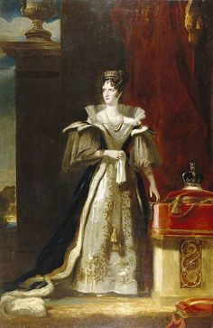 Portrait of Adelaide of Saxe-Meiningen (1792-1849), queen consort of the United Kingdom and Hanover, wife of king William IV of the United Kingdom | John Simpson (1832)