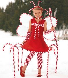 Candy Cane Fairy Costume