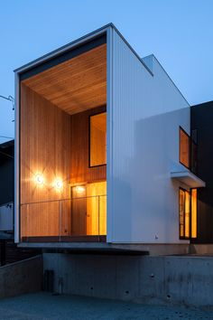 Fly Out House Is A Minimalist Home Located In Aichi, Japan, Designed By  Tatsuyuki Takagi Architects Associates.