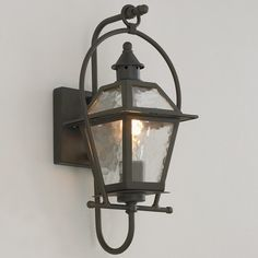 Charleston Outdoor Wall Lantern bronze