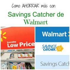 Como ahorrar con savings catcher de Walmart