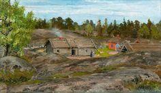 ~   Lillsvartö, Porkkala Finland   ~~     Venny Soldan-Brofeldt (Finnish painter)  1863 - 1945       ~~