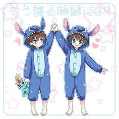 --Shinichi and Kaito Kid--