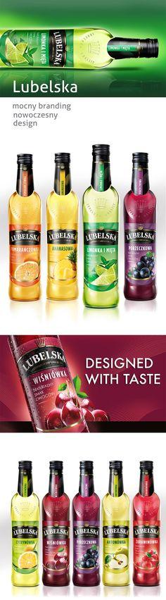 Wódka Lubelska | PND Futura | Agencja brandingowa, Projektowanie opakowań, Food Photography