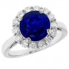 2.97ct Ceylon Sapphire & 0.83ct Diamond Gold Engagement Ring - See more at: http://www.newyorkestatejewelry.com/rings/2.97ct--ceylon-sapphire-&-0.83ct---diamond-gold--engagement-ring-/23694/1/item#sthash.4arX2sRE.dpuf