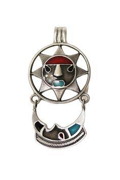 Huitzilo Hummingbird Pendant Necklace Aztec Tesoro Collection Tribal Jewellery