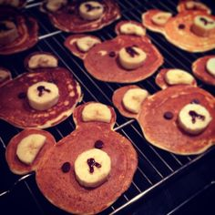 I made some Rilakkuma pancakes today, inspired by Rosanna Pansino's show Nerdy Nummies :D Check out her channel video for the recipe: http://youtu.be/lZ0zN7BiQl8