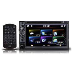 6.5 Inch Doble 2DIN en el tablero GPS Coche Reproductor de DVD Bluetooth Estereofonia auto Radio
