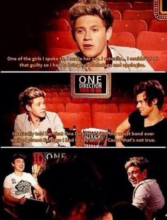 When Niall was disguised as a security guard and told everyone that 1D were crap