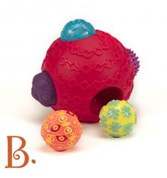 B.Toys Kula Sensoryczna Ballyhoo https://pulcino.pl/btoys/454-btoys-kula-sensoryczna-ballyhoo.html