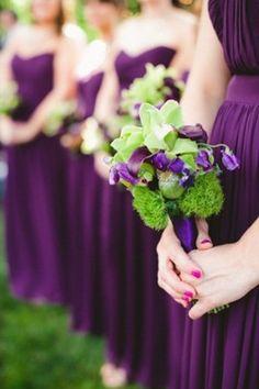 Pantone Color of the Year 2014-Radiant Orchid Wedding Ideas and Wedding Invitations -InvitesWeddings.com