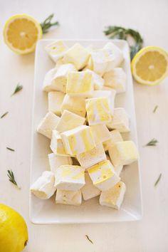 Lemon and Rosemary Marhmallows (via http://abeautifulmess.com)