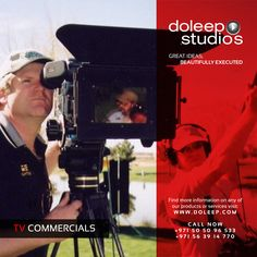 TV COMMERCIALS Making Services. Doleep Studios has created a vast TV Commercials portfolio, servicing major corporations and brands, making challenging productions and Visual Effects, realizing various mesmerizing ideas and concepts. Contact Doleep Studios www.doleep.com/contact-2/ Sales Team+971505096533 +971563914770 Sales sales@doleep.com Follow us on Social media #business #entrepreneur #fortune #leadership #CEO #achievement  #dubai #abudhabi #uae
