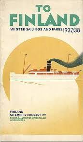 Kuvahaun tulos haulle finland vintage poster