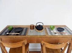 Johanna gullichsen placemats Weaving, Interiors, Kitchen, Inspiration, Home, Biblical Inspiration, Cooking, House, Interieur