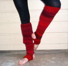 Extra Long Yoga Pilates Dances Socks Leg Warmers by ILiveByTheSea, $26.00