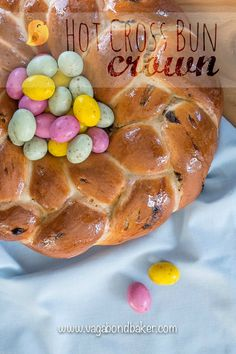 Hot Cross Bun Crown >> This will cheer up your Easter Queen! // Vagabond Baker