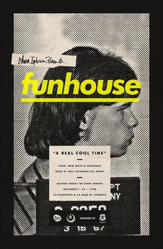 funhouse von Michael George Haddad, via Behance - Graphic Design - Desing Graphic Design Posters, Graphic Design Typography, Graphic Design Inspiration, Poster Designs, Poster Layout, Poster S, Poster Ideas, Book Design, Layout Design