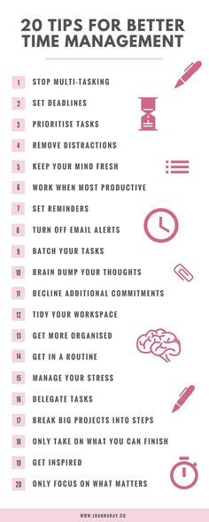 20 Time Management Tips When You Work From Home snip.ly/yqccq http://itz-my.com