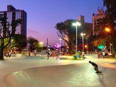 Praça Palmares - Santos