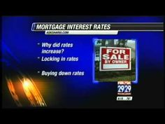 Mortgage Rate News: Mortgages, Interest Rates And Rising Rates With Shar...