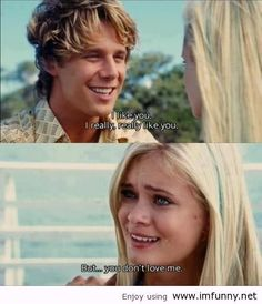 Auqamarine !!! Love this movie ! I thought the mean-girl subplot was cheesy, unnecessary and not acted well, but otherwise a great movie to watch with your girlfriends at a sleepover. Or just for us Pisces who are convinced we were mermaids in a past life ;)