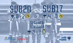 Rayados Segunda División y Sub 17 siguen en camino triunfador