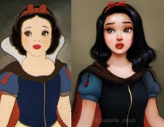 Illustrator Repaints Disney And Other Cartoon Characters In Her Unique Style, And They Look Better Than Original Disney Fan Art, Disney Pixar, Disney Princess Art, Disney Memes, Disney Animation, Disney And Dreamworks, Disney Magic, Disney Princesses, Punk Disney