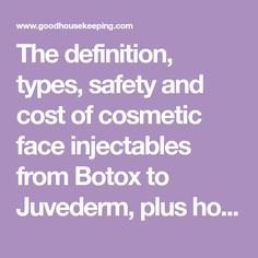 The definition, types, safety and cost of cosmetic face injectables from Botox to Juvederm, plus how long they last, before and afters, and the newest dermal fillers. Face Fillers, Dermal Fillers, Under Eye Hollows, Skin Md, Hyaluronic Acid Fillers, Facial Anatomy, Human Teeth, Crows Feet
